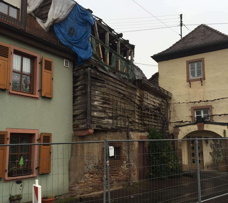 Haus am Torbogen, Abbrucharbeiten