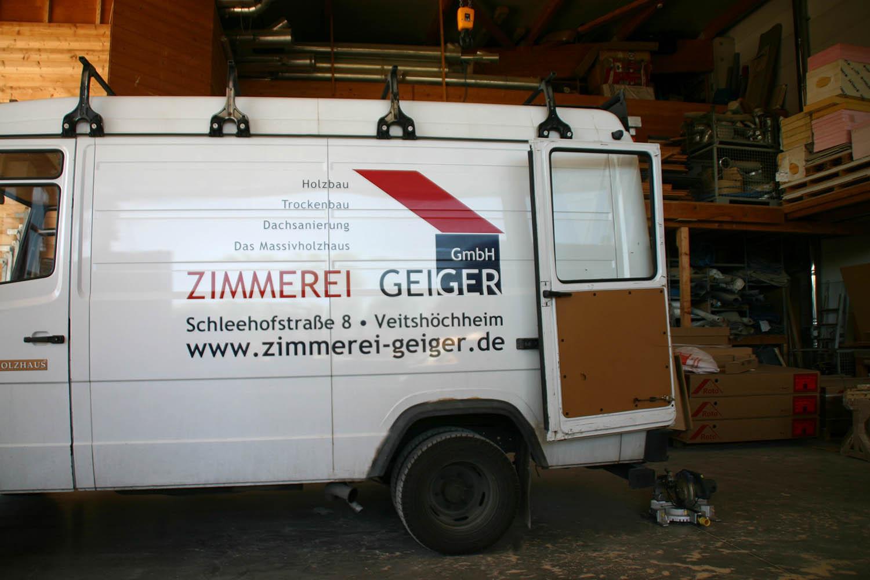 Zimmerei Geiger Holzbau